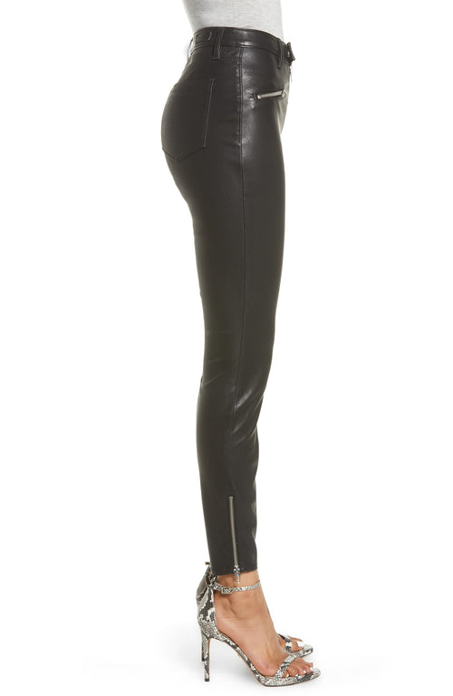 Blank NYC Faux Leather Skinny Pants Deja Boo