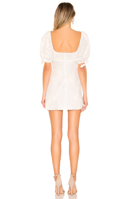 For Love and Lemons Macaroon Hook Front Mini Dress