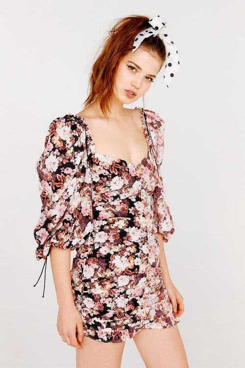 For Love and Lemons Houston Mini Dress
