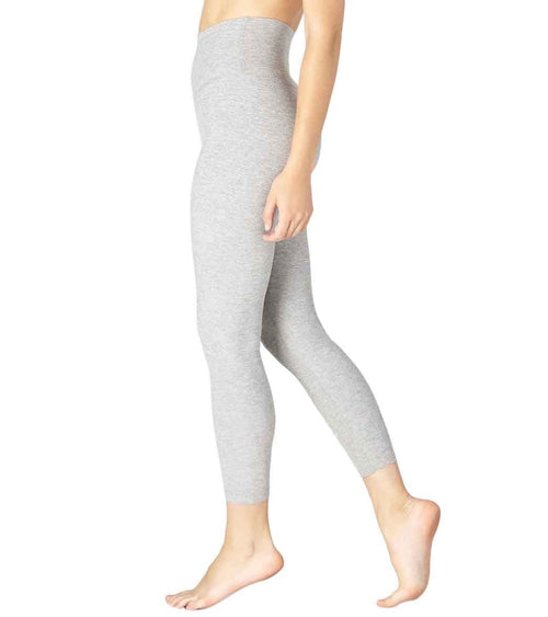 Beyond Yoga Spacedye Midi High Waisted Leggings Silver Mist