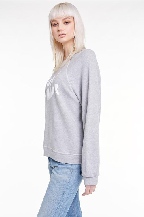 Wildfox Pour Favor Sommers Sweater Heather