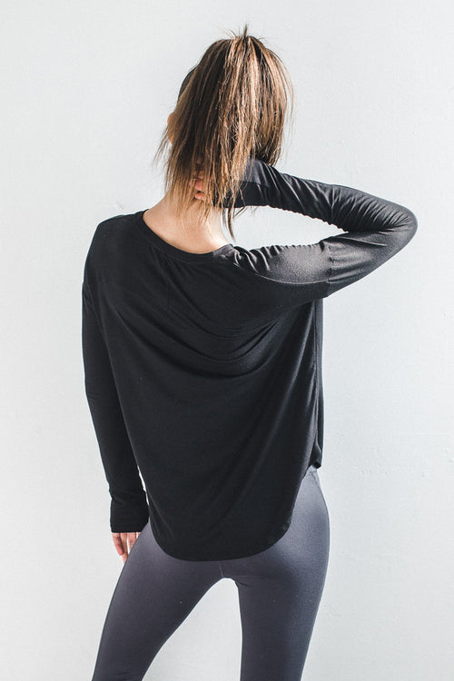 Joah Brown Limitless Long Sleeve Pocket Crew Tee