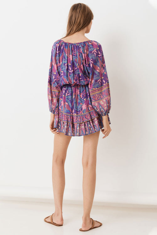Spell & the Gypsy Bianca Long Sleeve Playdress Wisteria