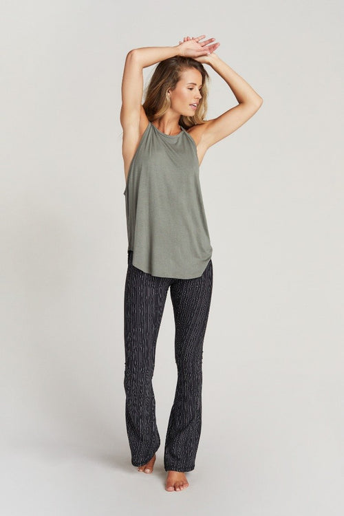 Strut This Elle Tank Top Fern