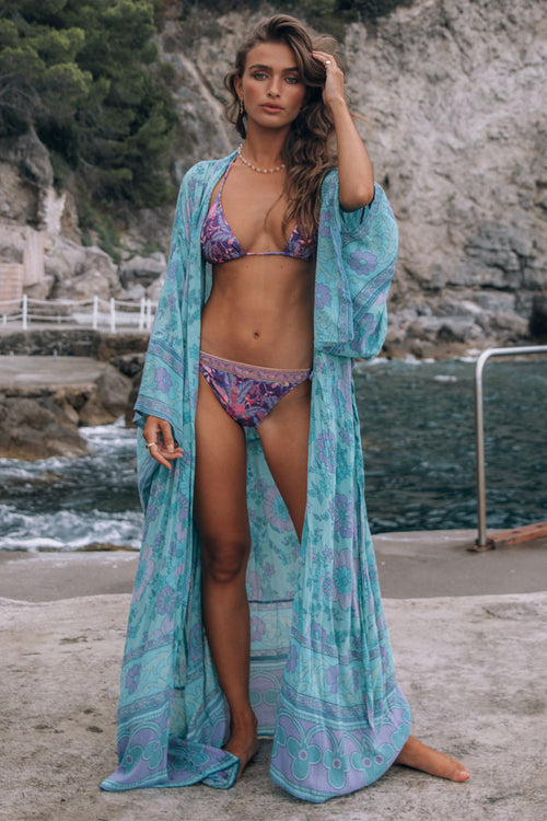 Spell & the Gypsy Buttercup Maxi Robe Ocean