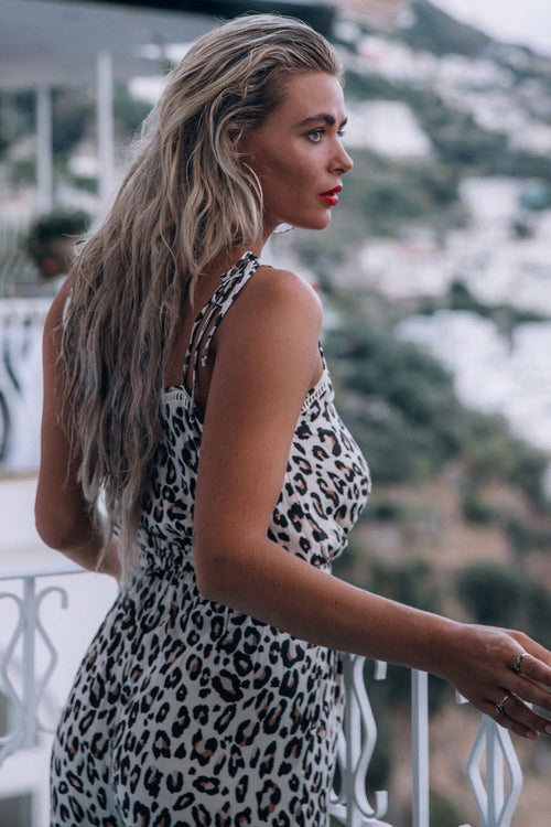 Spell & the Gypsy Bodhi Leopard Jumpsuit