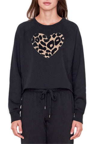 Wildfox Daring Monte Crop Sweater Vanilla