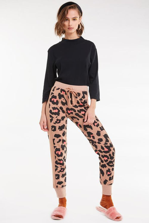 Wildfox Preppy Kitty Sport Jack Jogger Sweatpant