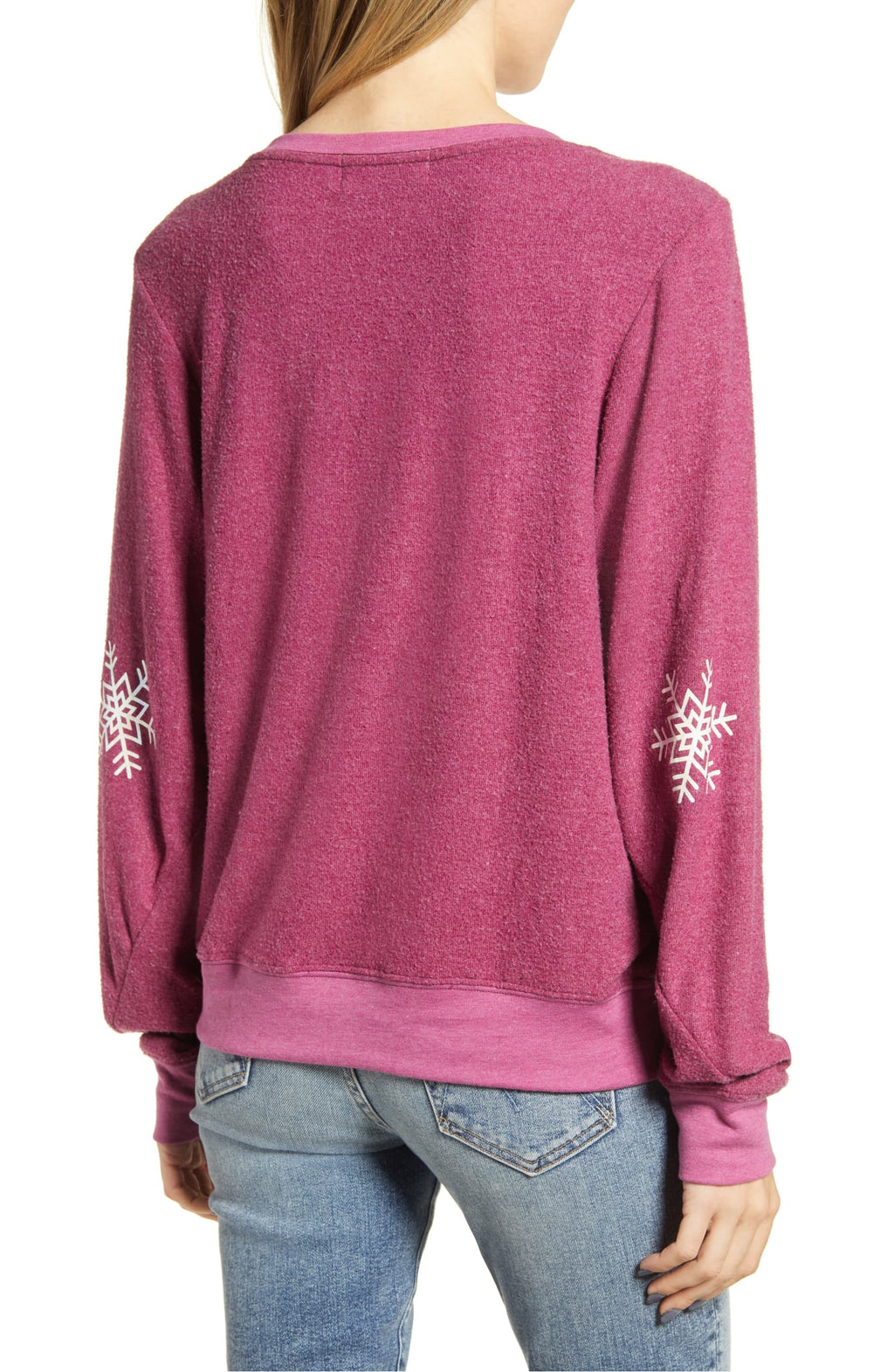 Wildfox Up to Snow Good Sweatshirt