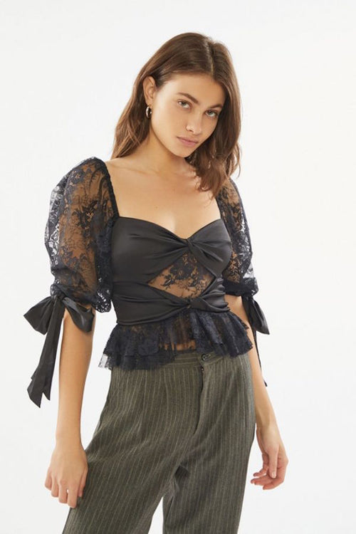 For Love and Lemons Sonia Lace Top