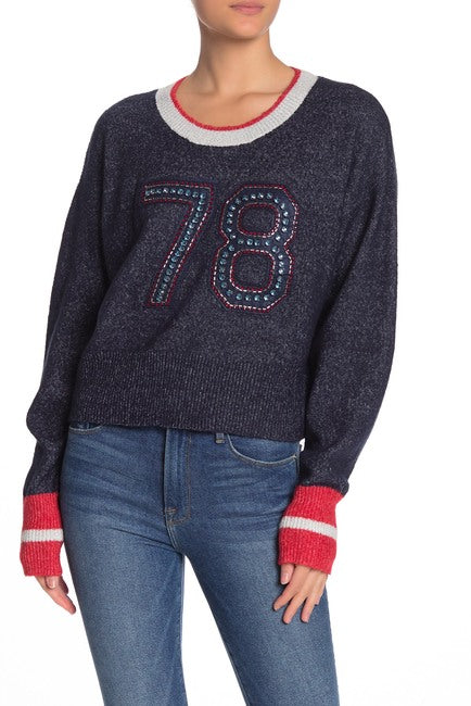 WILDFOX Malone 78 Embellished Sweater
