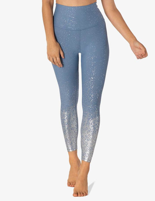 Beyond Yoga Alloy Ombre High Waisted Midi Legging Serene Blue