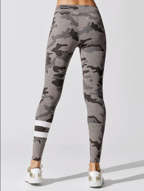 SUNDRY Camo Yoga Pant Heather Grey