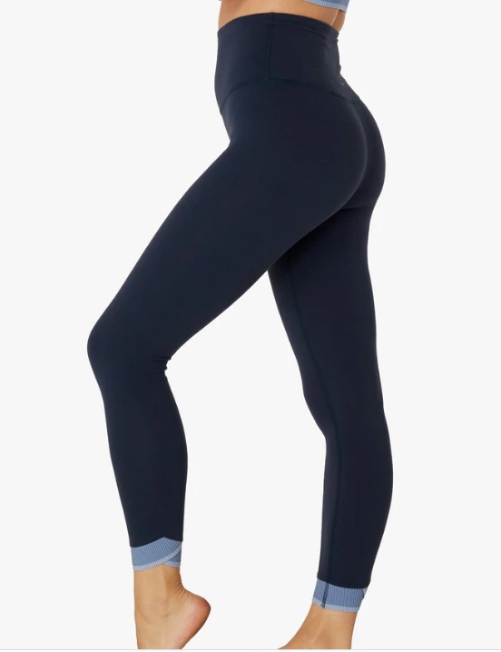 Beyond Yoga Crossed For Words High Waisted Midi Legging