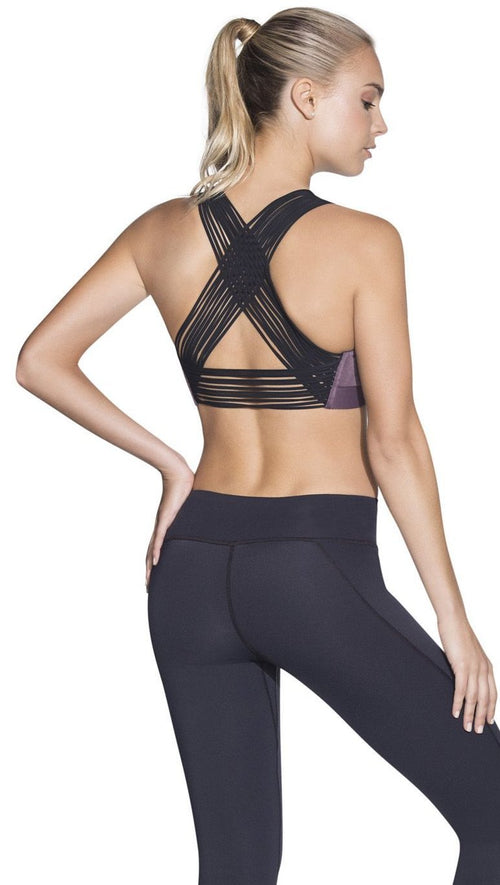 Maaji Ripple Amethyst Sports Bra