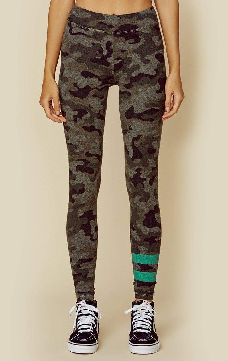 Sundry Stripes Camo Yoga Pant Hunter