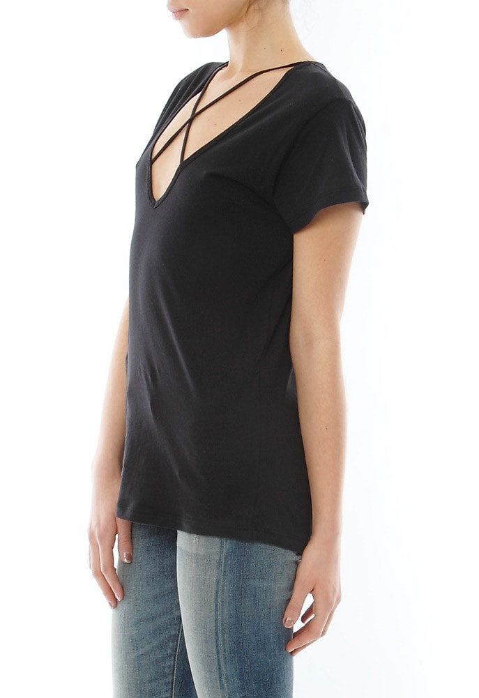 LNA Cross Tee Black