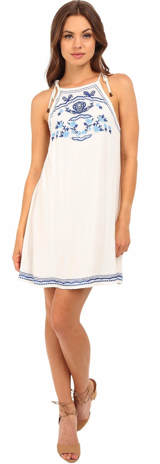 Lovers + Friends Poetic Dress Ivory