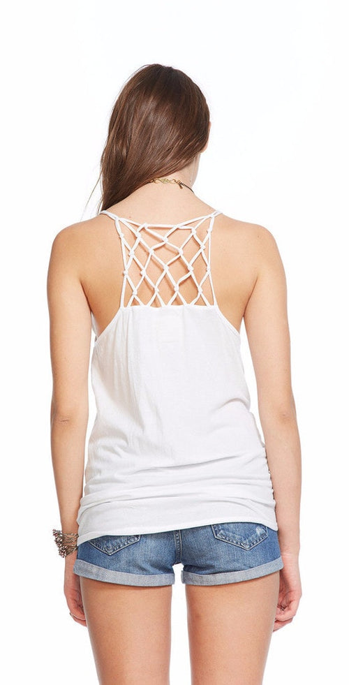 Chaser Hi-Lo Knotted Cami