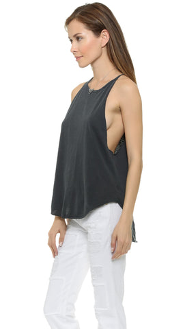 LNA Tied Up Tank Top