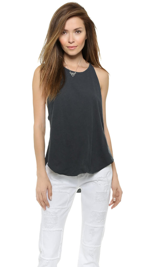 LNA Bib Tank Washed Black
