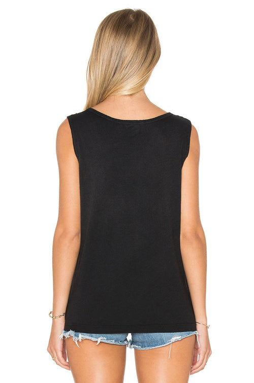 LNA Desert Tank Top Black