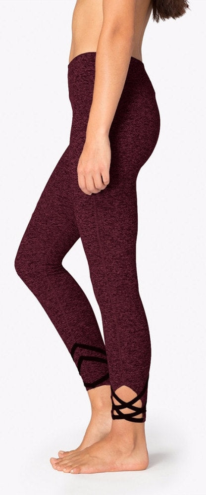 Beyond Yoga Strappy Ballet Space Dye Legging