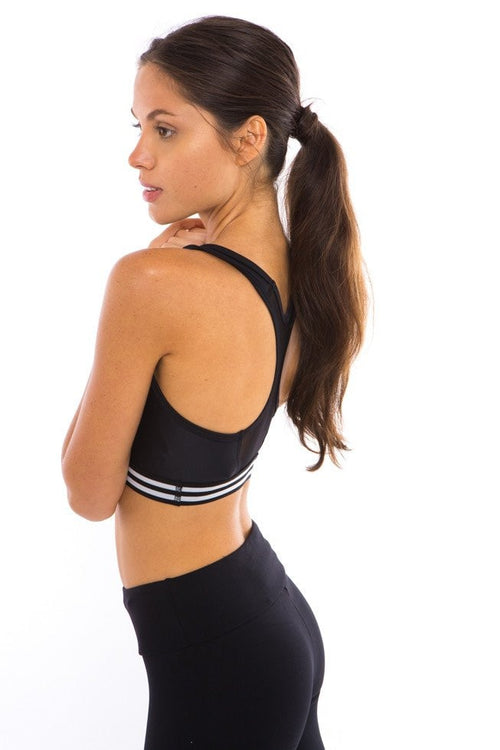 Onzie Elastic Band Bra Black