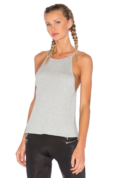 Blue Life Fit High Neck Tank Top
