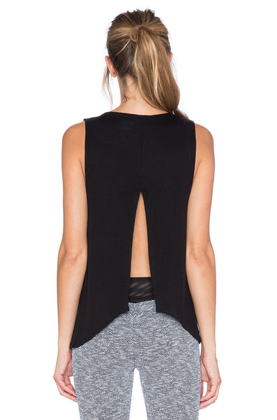 Blue Life Fit Open Back Tank