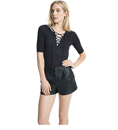 Dolce Vita Caroline Lace Up Long Sleeve