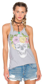 Chaser Flower Crown Tank Top
