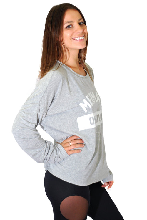 The Laundry Room Mermaid Off Duty Long Sleeve