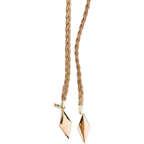 Vanessa Mooney The Braided Diamond Bolo