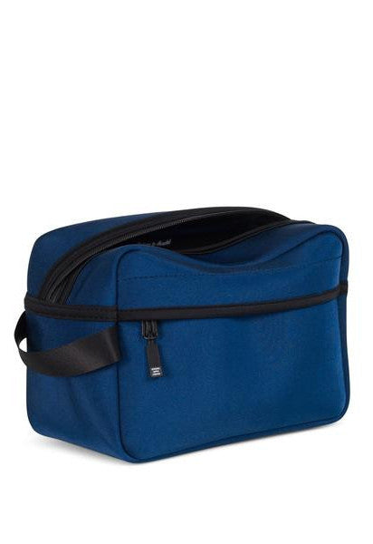 Herschel Chapter Travel Kit Shiny Peacot