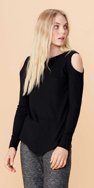 LNA Meridian Long Sleeve Black