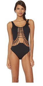 Dolce Vita Macrame One Piece Swim Suit
