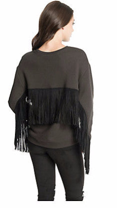 Dolce Vita Grace Fringe Sweater