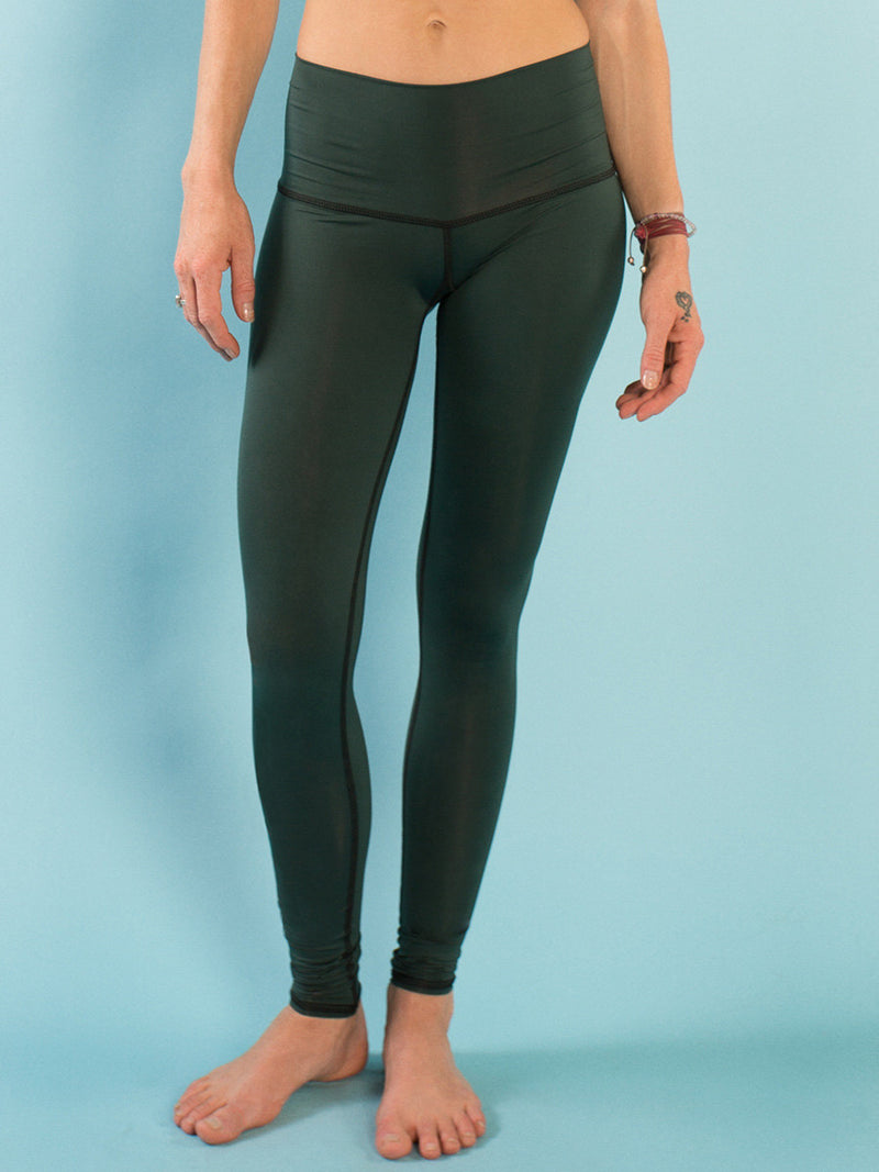 Teeki Hunter Green Hot Pant Legging