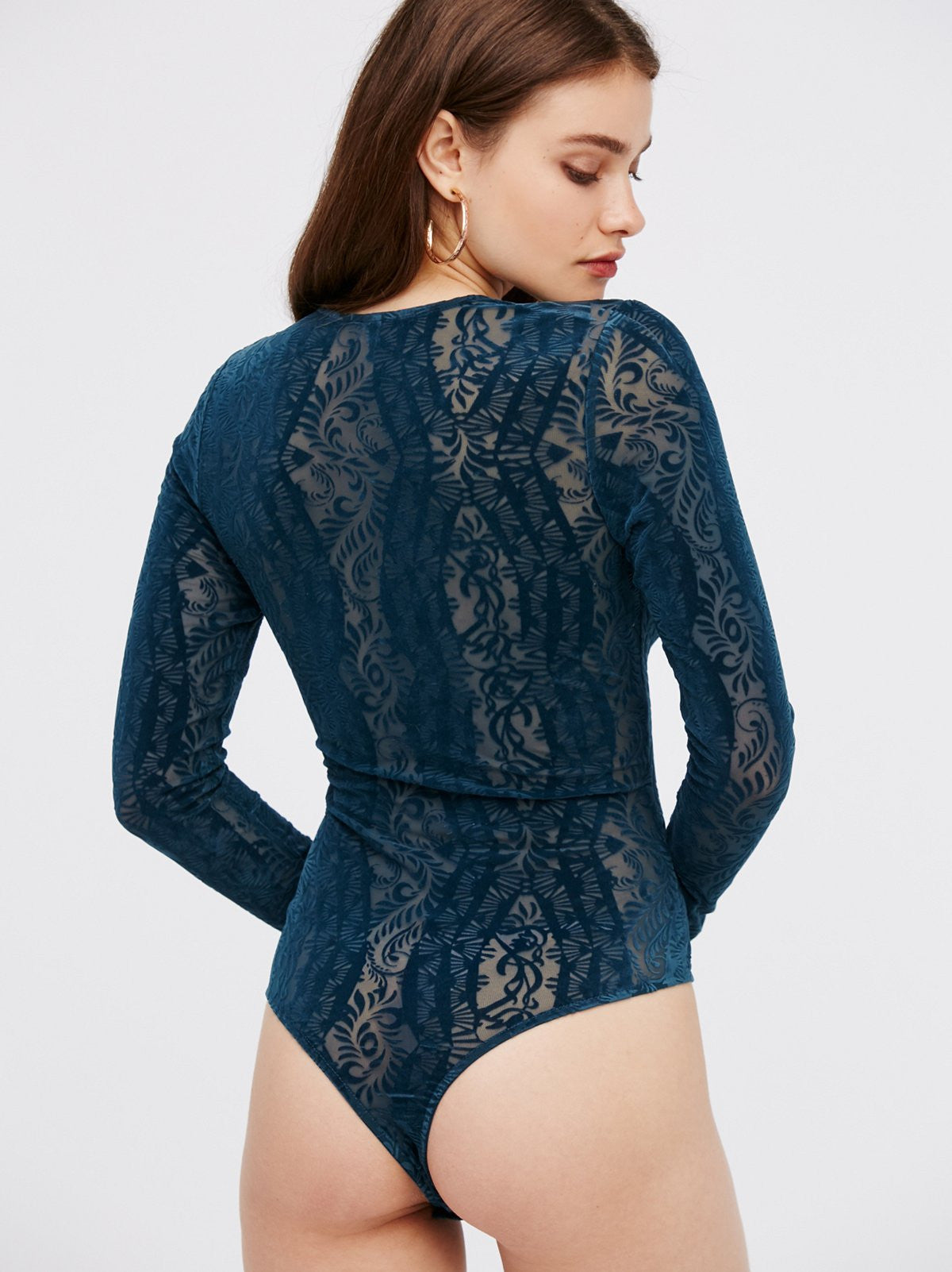 d4a407f457 Free People On The Dance Floor Velvet Bodysuit – Bliss Bandits