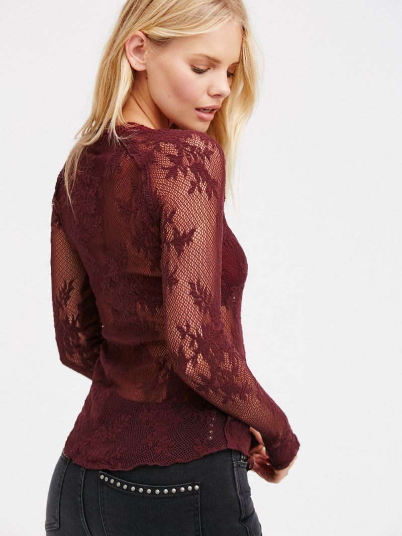 Free People Oh Glove It Layering Top
