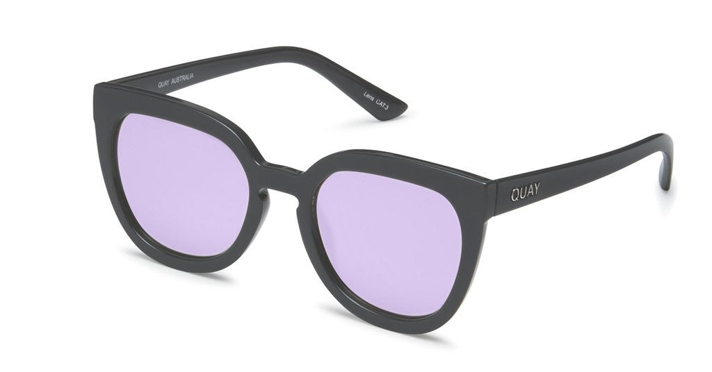 Quay Noosa Gray Purple Sunglasses