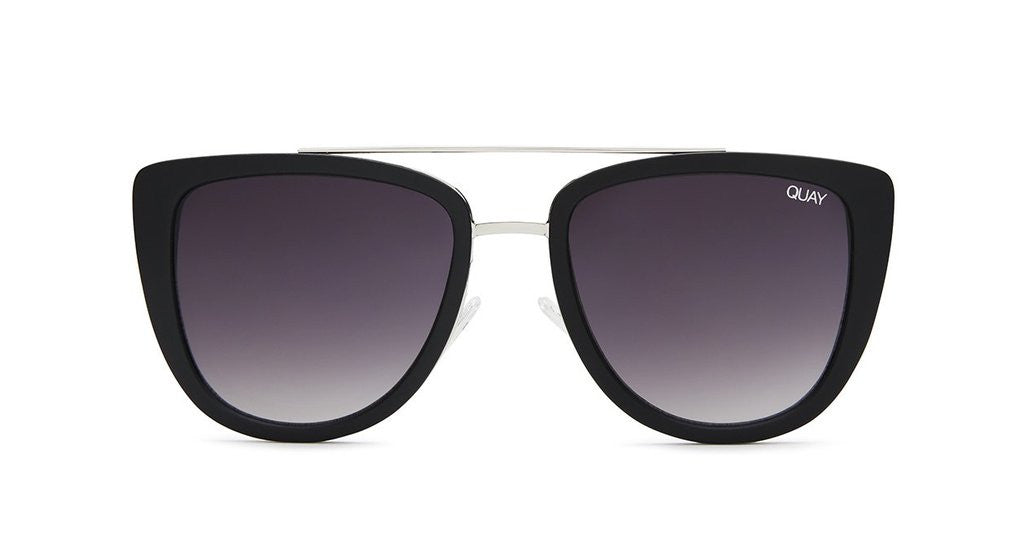 Quay French Kiss Black Smoke Sunglasses
