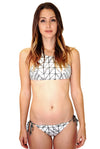 Dolce Vita Rough & Tumble High Neck Bikini Top