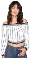 Lovers + Friends Cannes Top Stripe
