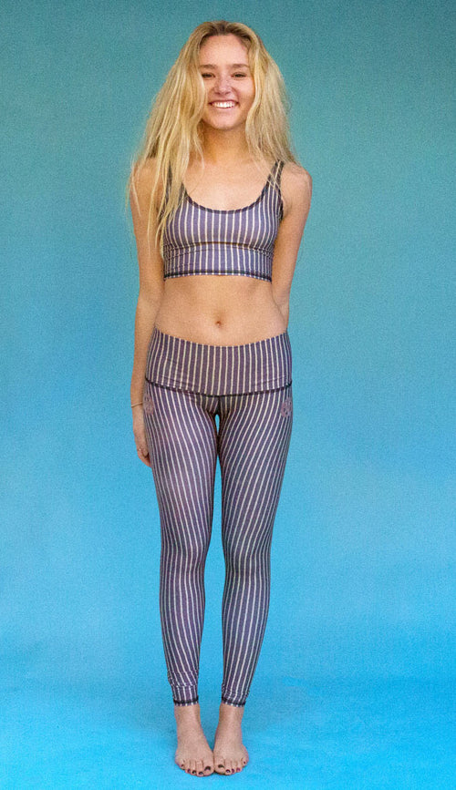 Teeki Dust and Gold Hot Pant Legging