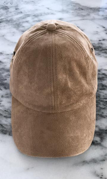 Sweat Active 6 Panel Ultra Suede Baseball Cap Nude