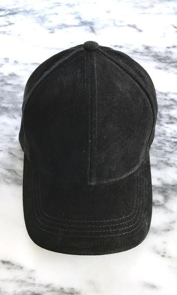 Sweat Active Suede Baseball Cap Black