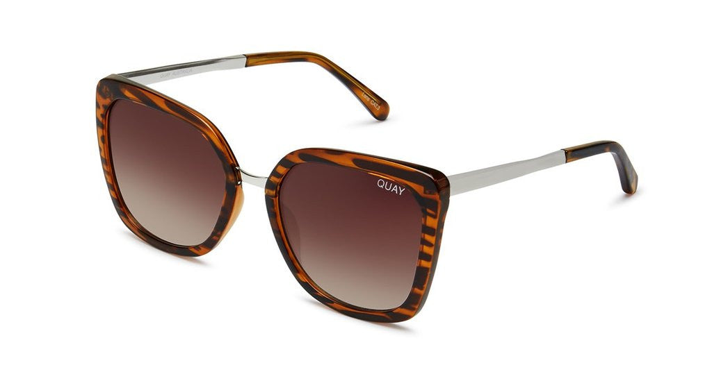 Quay Capricorn Tortoise Brown Sunglasses