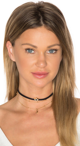 Ettika Star and Moon Choker